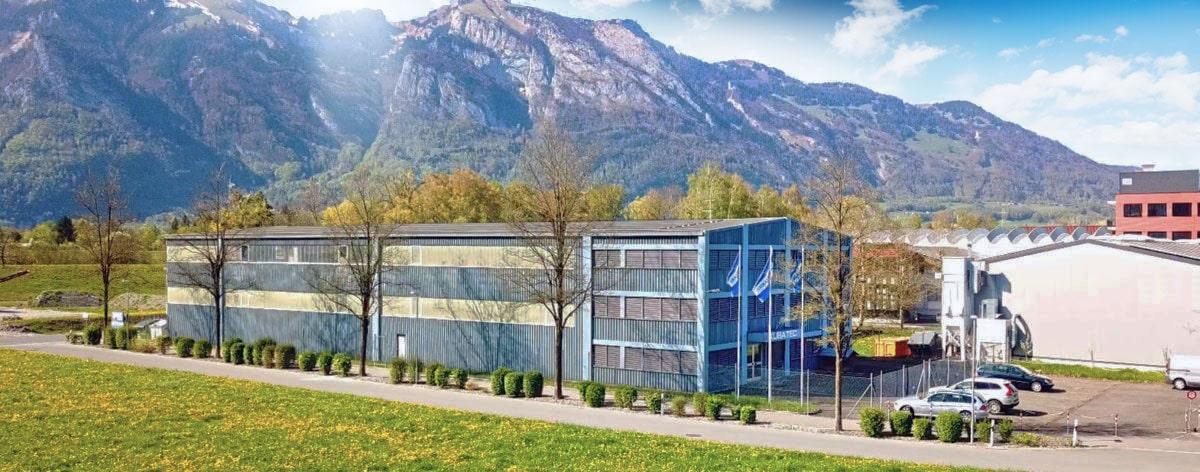 Firma KUBATEC - Produzent von Betonamit, mit Sitz in Ruggell / Liechtenstein