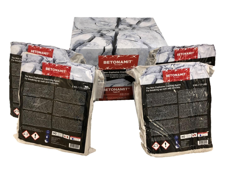 BETONAMIT - Cartón 20 kg (4 x 5 kg)