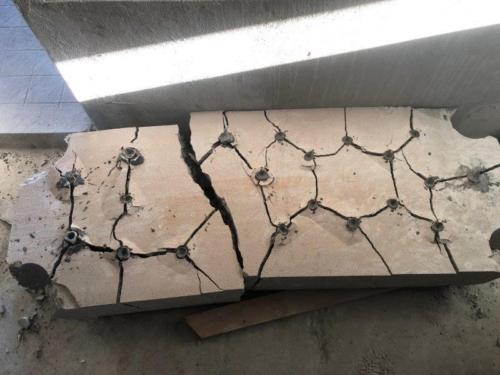 betonelemente-zerkleinern-mit-sprengbeton