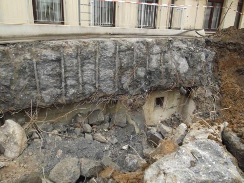 Bunkerabbruch mit BETONAMIT®