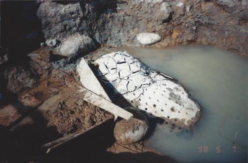 BETONAMIT® Fels zerkleinern im Wasser