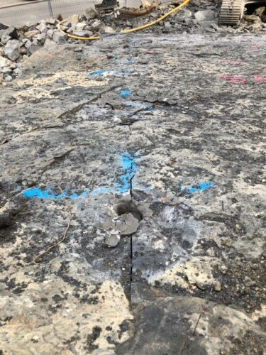 BETONAMIT - Steine spalten chemisch